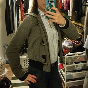 American eagle jacket very warm with toggles